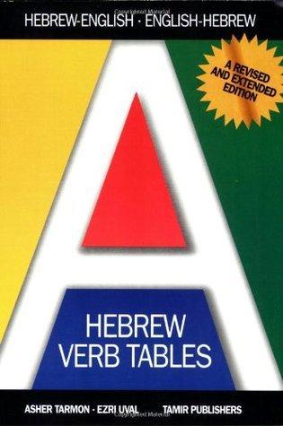 Hebrew Verb Tables  by  Tarmon