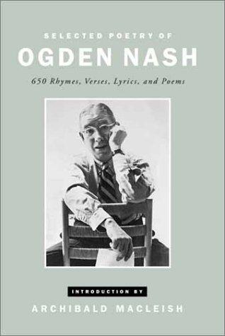 Selected Poetry Ogden Nash