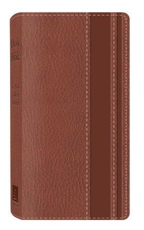 KJV VEST POCKET BIBLE (DICARTA BROWN)  by  Barbour Publishing, Inc.