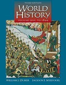 World History: to 1800 William J. Duiker