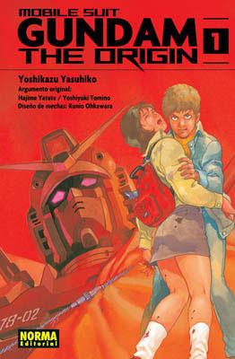 Gundam The Origin 01  by  Yoshikazu Yasuhiko