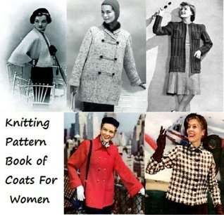 Knitting Pattern Book of Coats For Women Unknown
