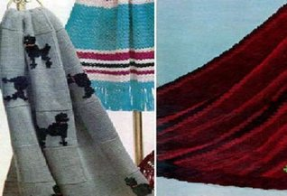 Knitted Afghan Patterns  by  Unknown
