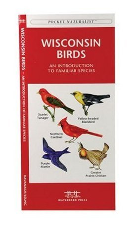 Wisconsin Birds: A Folding Pocket Guide to Familiar Species  by  James Kavanagh