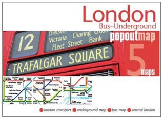 London Bus Underground Popout Map  by  Popout Maps