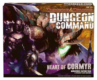 Dungeon Command: Heart of Cormyr: A Dungeons & Dragons Expansion Pack  by  Wizards of the Coast