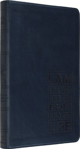 ESV Thinline Bible (TruTone, Navy, John 14:6 Design) #value!