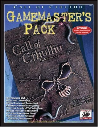 Call of Cthulhu Gamemasters Pack  by  Aaron Rosenberg