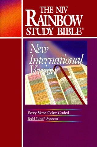 The NIV Rainbow Study Bible Inc. Rainbow Studies