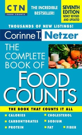 The Dieters Carbohydrate Gram Counter  by  Corinne T. Netzer