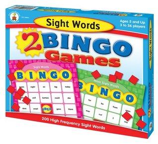 Sight Words Bingo Carson-Dellosa Publishing