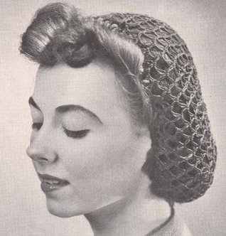 Fishnet Snood Hat Cap Vintage Crochet Pattern EBook Download  by  The Crochet Kid