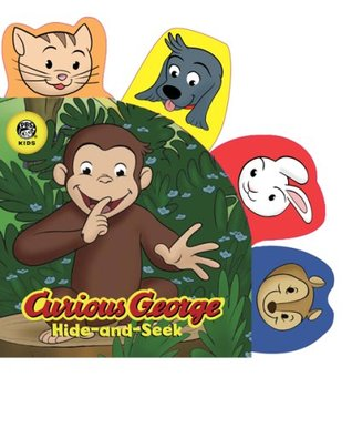 Curious George Hide-and-Seek (CGTV Tabbed Board Book) H.A. Rey