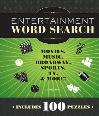 Entertainment Word Search: Movies, Music, Broadway, Sports, TV & More John Samson