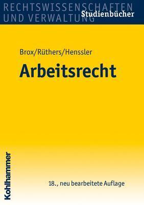 Arbeitsrecht  by  Hans Brox