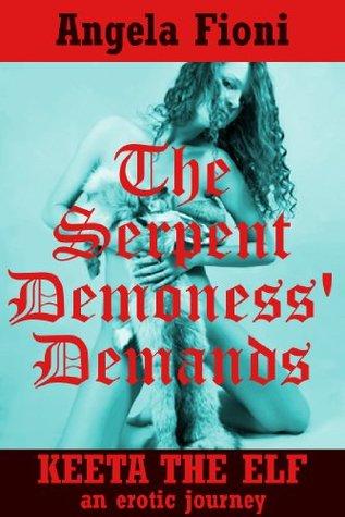 The Serpent Demoness Demands: A Lesbian Monster Sex Erotica Story - # 5 Angela Fioni
