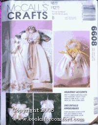 McCalls 6608 Heavenly Accents Angel Dolls Sewing Craft Pattern McCall Pattern Co