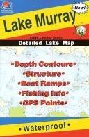 Lake Murray Fishing Map (South Carolina Series)  by  Fishing Hot Spots