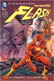 The Flash, Vol. 3: Gorilla Warfare  by  Francis Manapul