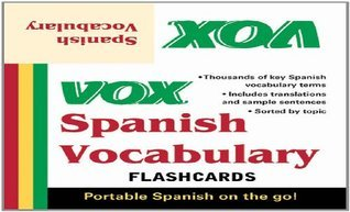 VOX Spanish Vocabulary Flashcards  by  Vox
