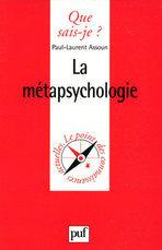La métapsychologie  by  Paul-Laurent Assoun
