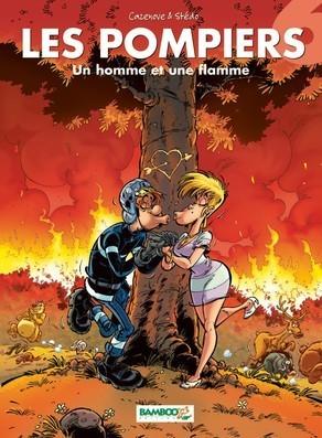 Un homme et une flamme (Les Pompiers, #6) Christophe Cazenove