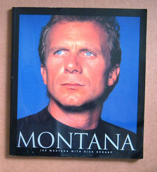 Joe Montana with Dick Schaap Dick Schaap