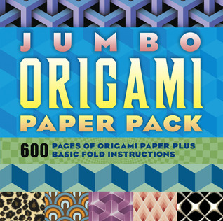 Jumbo Origami Paper Pack: 300 Sheets of Origami Paper Plus Basic Fold Instructions  by  Sterling Publishing