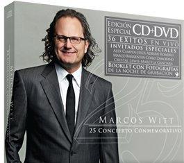 Marcos Witt CD + DVD 25 Anos Concierto Conmemorativo Marcos Witt CD + DVD 25 Anos Concierto Conmemorativo