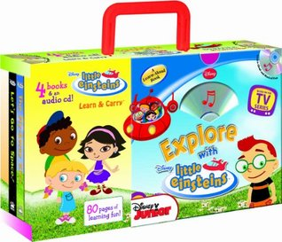 Explore with Little Einsteins (4-book Learn & Carry pack with audio CD)  by  Studio Mouse LLC