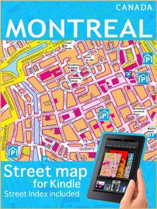 Map of Montreal  by  Digital Maps