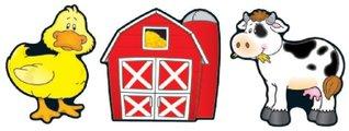 Barns & Farm Animals Cut-Outs  by  Carson-Dellosa Publishing