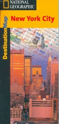 Destination Map-New York City - Destinations Map National Geographic Society