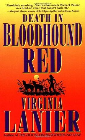 Death in Bloodhound Red (Jo Beth Sidden Bloodhound Mystery #1) Virginia Lanier