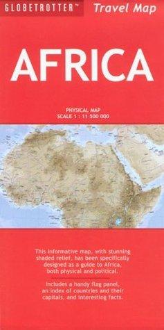 Africa Travel Map  by  Bruce Elder