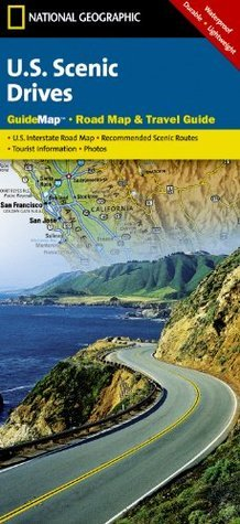 Scenic Drives USA (National Geographic: Guide Map) National Geographic Society