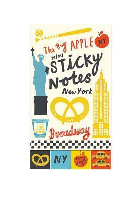 The Big Apple Mini Sticky Notes  by  Debbie Powell