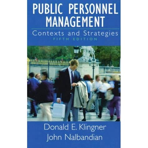 What is Public Personnel Administration?
