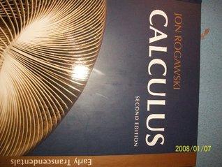Calculus (Early Transcendentals, 2nd edition) Jon Rogawski