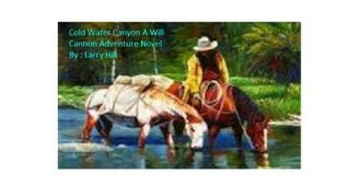 Cold Water Canyon A Will Cannon, Bounty Hunter, Western Adventure Novel  by  Larry Hill