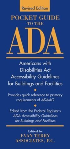 Pocket Guide To The Americans With Disabilities Act Accessibility Guidelines For Buildings And Facilities Evan Terry Associates
