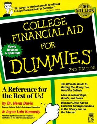 College Financial Aid For Dummies (For Dummies Herm Davis
