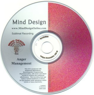 Control Anger Subliminal CD - Control Your Anger or Temper in an All Natural Way!!  by  Mind Design Unlimited