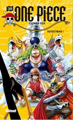 One Piece, Tome 38 : Rocketman !  by  Eiichiro Oda