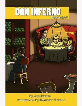 Don Inferno Illustrated Jug Brown