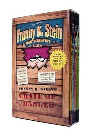 Franny K. Steins Crate of Danger (Franny K. Stein, Mad Scientist, #1-4) Jim Benton