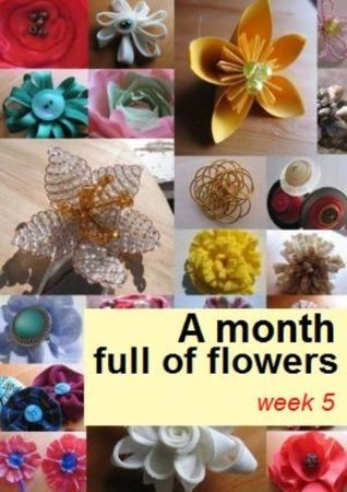 A month full of flowers, week 5 Lemon And Pink