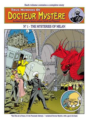 True Memoirs Of Docteur Mystere - The Mysteries Of Milan (Vol. 1) Castelli, Alfredo