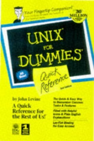 Unix for Dummies Quick Reference Margaret Levine Young