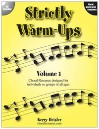 Strickly Warm-Ups Volume 1  by  Choral Resource Products
